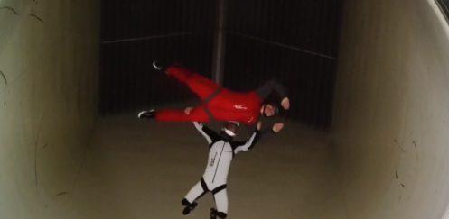 Il più grande simulatore di caduta libera, a Milano con Gattinoni