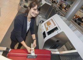 Eurowings offre il check-in automatico all'aeroporto di Amburgo