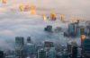 Livelli allarmanti di inquinamento atmosferico in metà delle 100 città dei viaggi d'affari più visitate