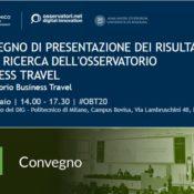 Osservatorio Business Travel: appuntamento a Milano il 18 febbraio