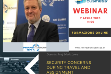 Webinar – Viaggiare sicuri e consapevoli: business travel – security awareness