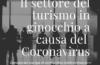 Il settore del turismo in ginocchio per il Coronavirus