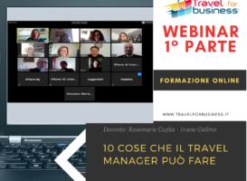 Webinar: le 10 cose che il Travel Mobility Manager può fare – 1° parte