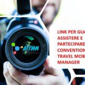 Link per partecipare alla Convention dei Travel Mobility Manager: 22 ottobre